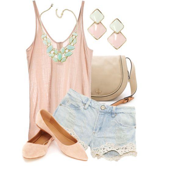 Розовая одежда пастельных оттенков