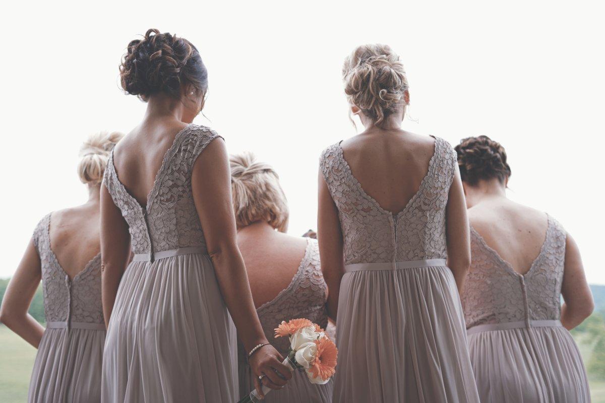Романтичный стиль в свадебной моде